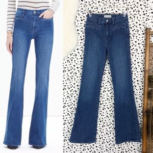 Madewell | Flea Market Flare Leg Denim Blue Jeans